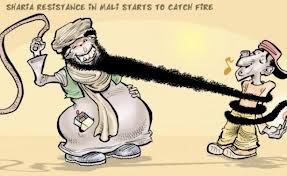 Mali Sharia Cartoon